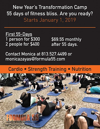 New Year's Transformation Camp